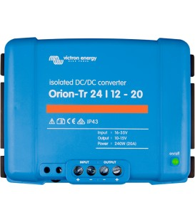 Orion-Tr DC/DC omvand. isolerad 24/12-20A (240W)