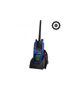Tron TR30 GMDSS and maritime VHF radio with charger and rechargeable battery