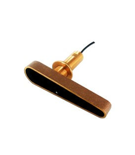 CPT-120 CHIRP genomskrovsgivare i brons med fairingblock, djup & temp, direktanslutning till CP100 och xx8 MFDs (10m kabel)