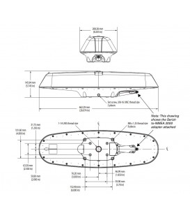 GPS-kompass  Vector Lite MKIII