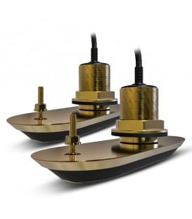 RV-220 Dubbla genomskrovsgivare brons, 20° vinklat element