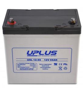 UPLUS 12V  55Ah AGM