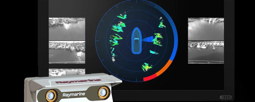 Raymarine DockSense™ assisterade angöring